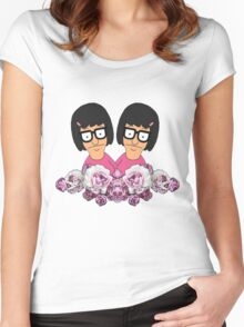Tina Women's Fitted Scoop T-Shirt