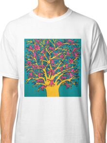 Keith Haring - Colorful tree Classic T-Shirt