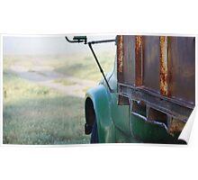 Derelict Truck Poster