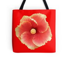 Single franjipani tropical  flower Tote Bag