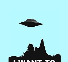 I WANT TO BELIEVE - COLOUR by paton