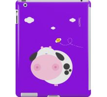 We are made so- cow violet iPad Case/Skin