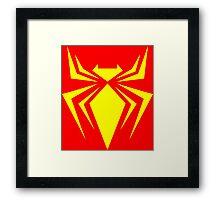 Iron Spider Framed Print