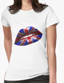 Union Jack Graphic Design Womens Fitted T-Shirt