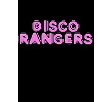 Disco Rangers by Chillee Wilson Photographic Print