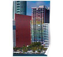 Miami Sights Poster