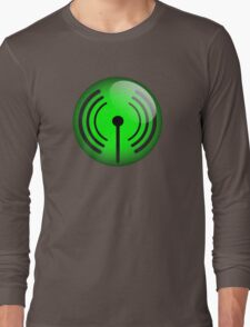 Wi-Fi Icon by Chillee Wilson Long Sleeve T-Shirt