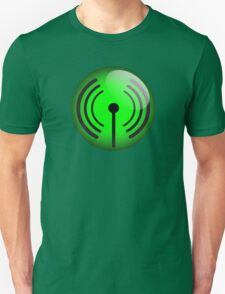 Wi-Fi Icon by Chillee Wilson Unisex T-Shirt