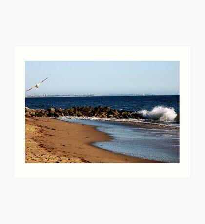 Ocean billow Art Print