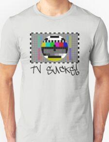 TV Sucks! by Chillee Wilson T-Shirt