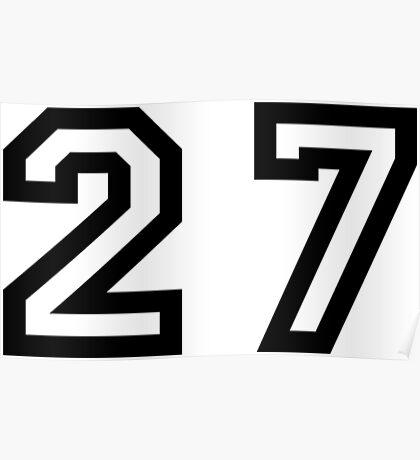 Twenty Seven Poster