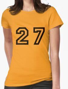 Twenty Seven Womens Fitted T-Shirt