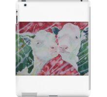 Green Cows - Cow Licks iPad Case/Skin