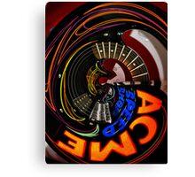 Speed Metal. Acme Style Canvas Print