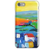 Saint-Flour France, lower town iPhone Case/Skin