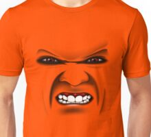 Angry Face / Böses Gesicht Unisex T-Shirt