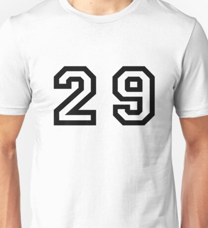 Twenty Nine Unisex T-Shirt