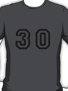 Number Thirty T-Shirt