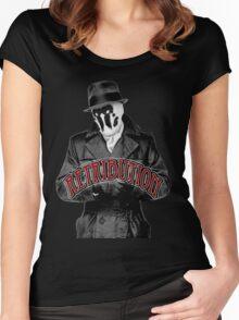Rorschach VI Women's Fitted Scoop T-Shirt