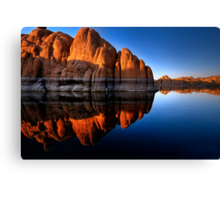 Rock Rock Canvas Print