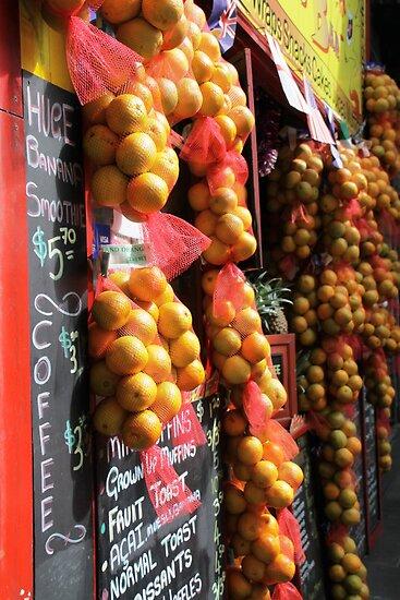 Urban Oranges by Natalie Ord
