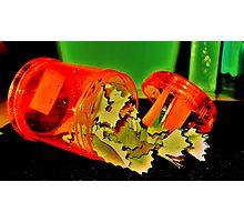 Neon Sharpener Style Photographic Print