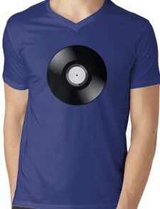 Vinyl Record by Chillee Wilson Mens V-Neck T-Shirt