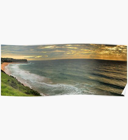 55 Shots at Mona Vale - Mona Vale Beach, Sydney - The HDR Experience Poster