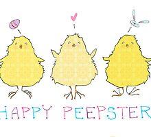 Happy Peepster by Abbi Ptak