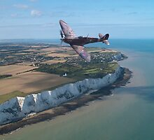 Spitfire over England by Paul Rowland