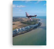 Spitfire over England Canvas Print