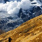 Avalanche! (Annapurna) by Harry Oldmeadow