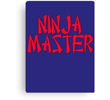 Ninja Master by Chillee Wilson Canvas Print