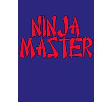Ninja Master by Chillee Wilson Photographic Print