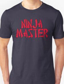 Ninja Master by Chillee Wilson Unisex T-Shirt
