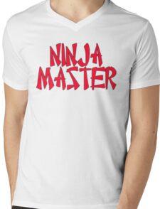Ninja Master by Chillee Wilson Mens V-Neck T-Shirt