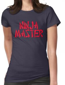 Ninja Master by Chillee Wilson Womens Fitted T-Shirt
