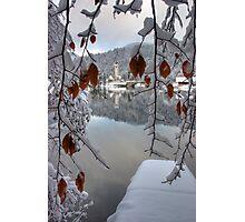 Snowy Valley Photographic Print