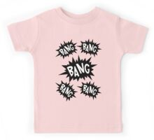 Cartoon Bangs by Chillee Wilson Kids Tee