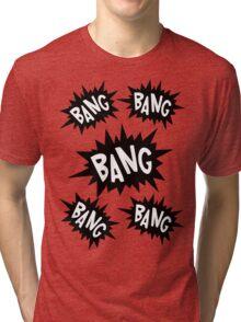 Cartoon Bangs by Chillee Wilson Tri-blend T-Shirt