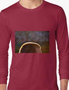 Backlit Buzz Cut Long Sleeve T-Shirt