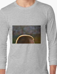 Backlit Buzz Cut Long Sleeve T-Shirt