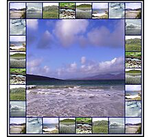 Hebrides Seascapes - A Western Isles Collage Photographic Print