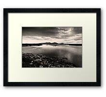 Loch Dheoir Framed Print