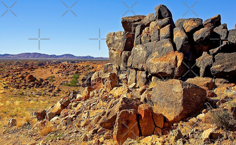 Quot Rocky Outcrop Above The Kalahari Desert Quot By Rudi Venter