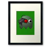 Cyborg Cute Monster by Chillee Wilson Framed Print
