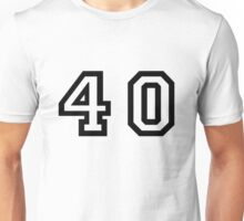 Forty Unisex T-Shirt