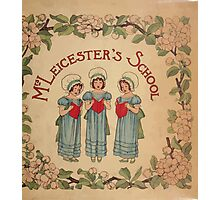 Mrs Leicester's School Charles & Mary Lamb with Minifred Green 18xx 0001 Title plate Photographic Print