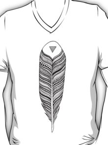 Tribal Feather T-Shirt