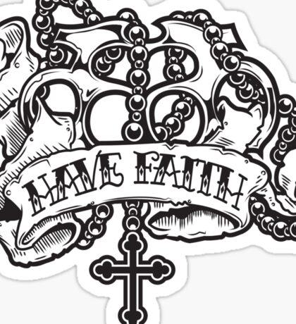 Have Faith MkII Sticker